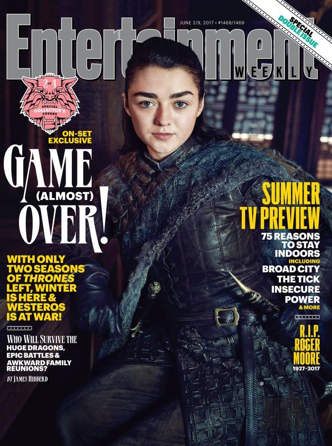 Entertainment Weekly portada Arya Stark