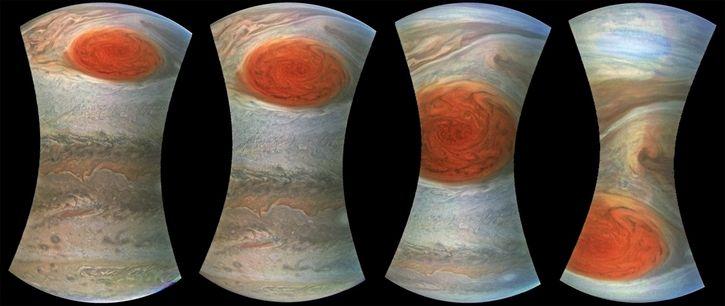 Gran Mancha Roja de Jupiter por sonda Juno (32)