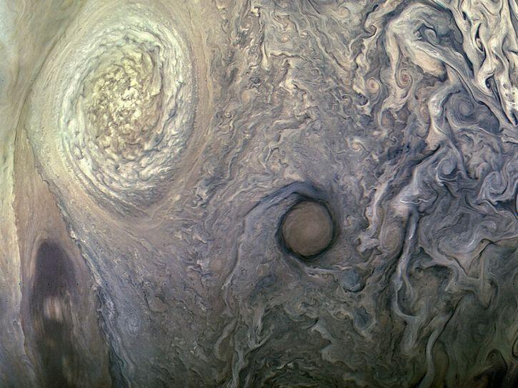 Gran Mancha Roja de Jupiter por sonda Juno (5)