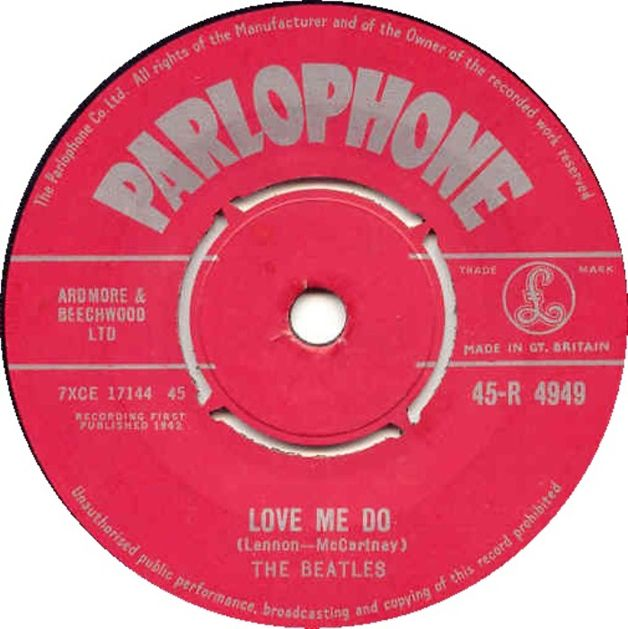 LP Love Me Do The Beatles