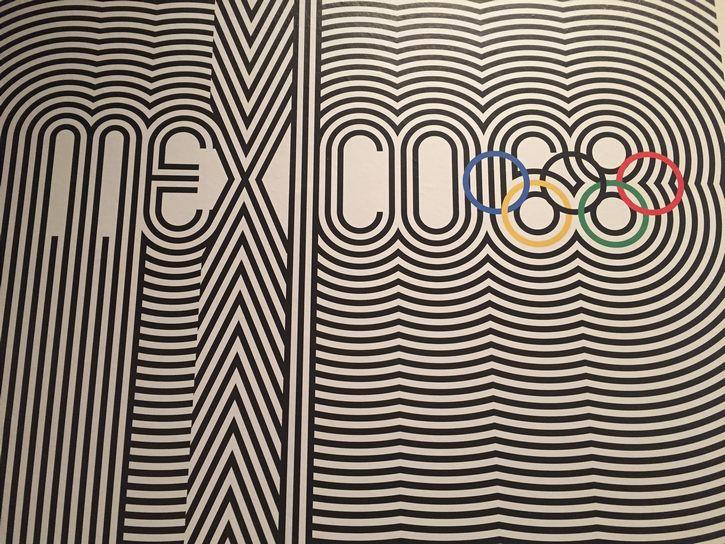 Logotipo Olimpiadas México 68 Lance Wyman