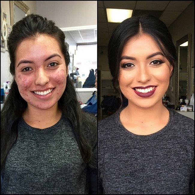 Maquillaje antes después resultados (15)