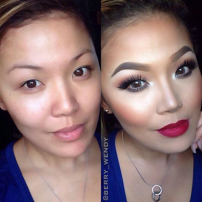 Maquillaje antes después resultados (5)