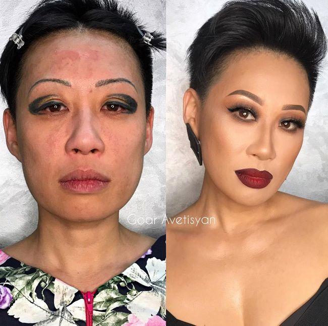 Maquillaje antes después resultados (8)