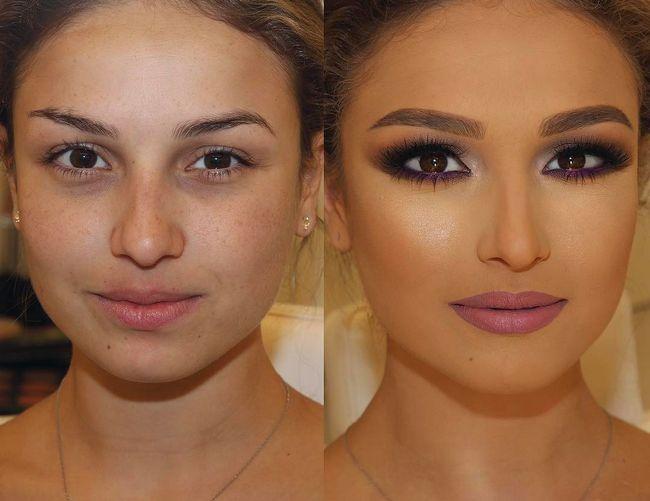 Maquillaje antes después resultados (9)