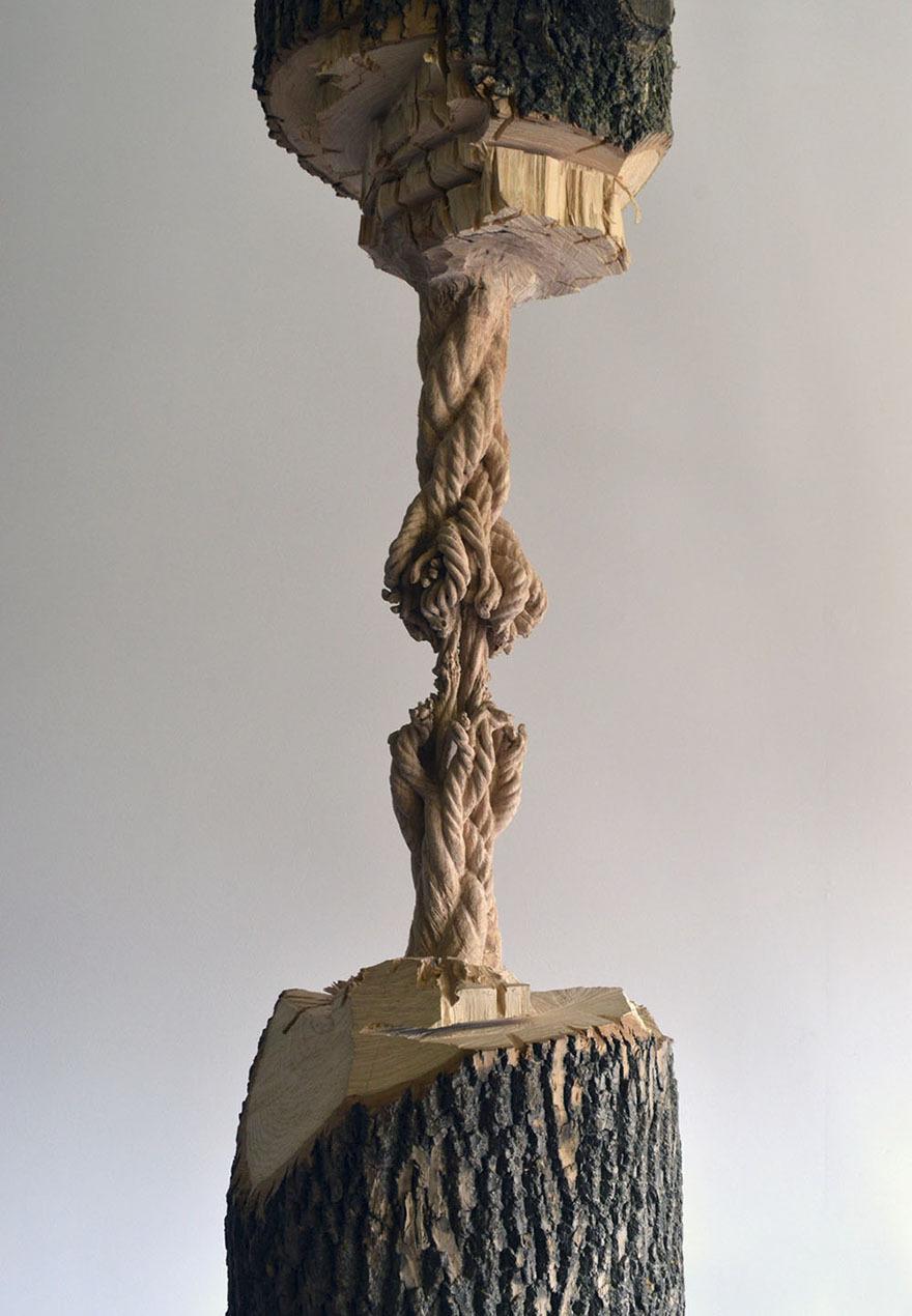 Maskull Lasserre esculturas talladas en madera (2)
