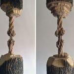 Maskull Lasserre y las surrealistas esculturas talladas en madera