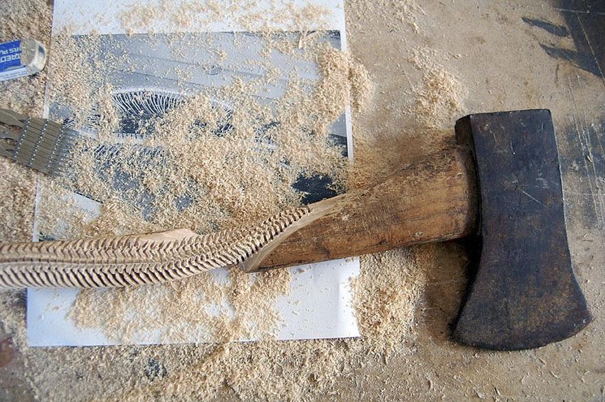 Maskull Lasserre esculturas talladas en madera (5)