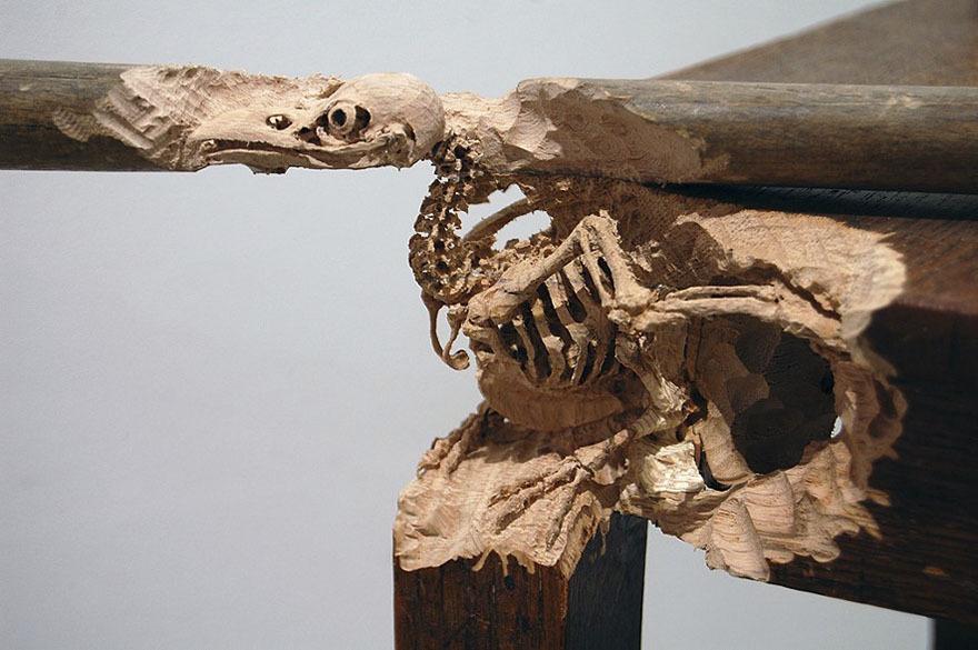 Maskull Lasserre esculturas talladas en madera (7)