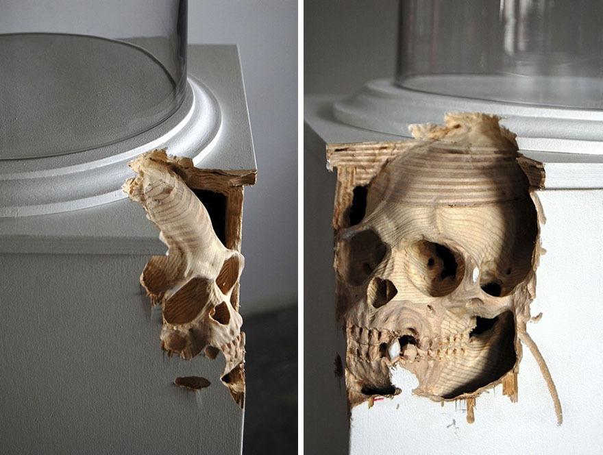 Maskull Lasserre esculturas talladas en madera (9)