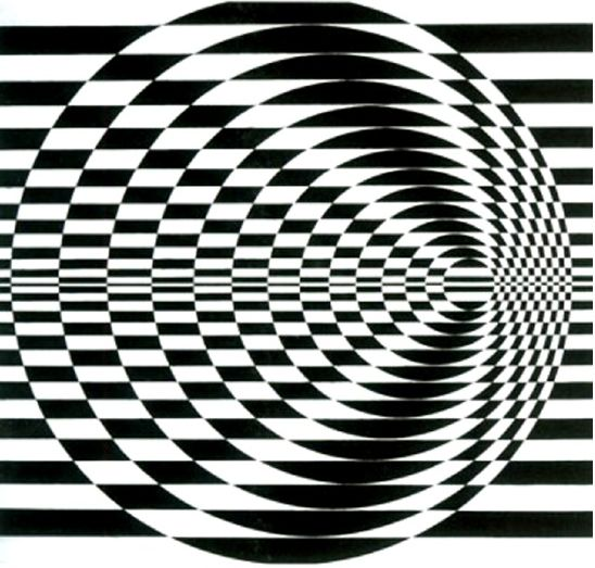 Op art por Bridget Riley