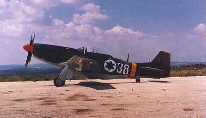 P 51 Mustang irraeli