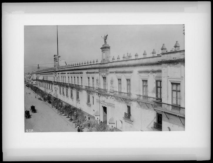 Palacio de Gobierno Ciudad de Mexico 1905 1910