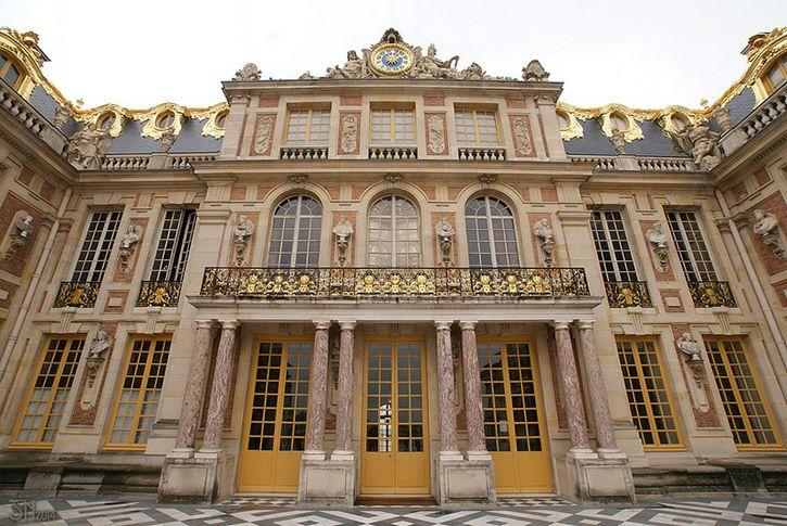 Palacio de Versalles frente