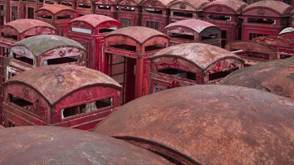 cabinas telefonicas abandonadas