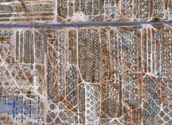 cementerio de aviones en el Desierto de Mojave (1)