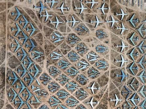 cementerio de aviones en el Desierto de Mojave (2)