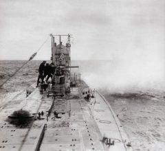 El escatológico hundimiento del submarino U-1206