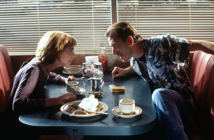escena del restaurante pulp fiction