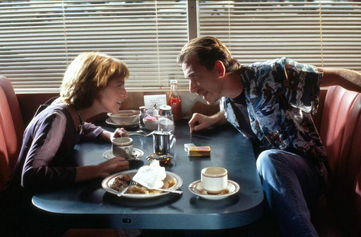 escena del restaurante pulp fiction