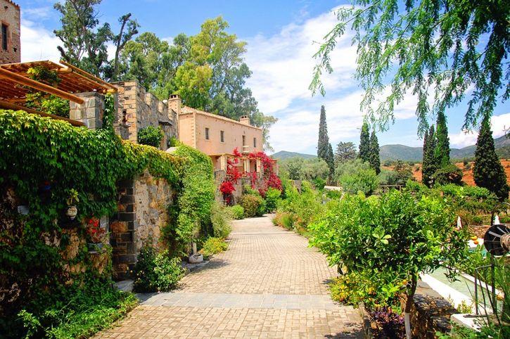 hotel en grecia de lujo