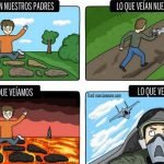 12 imágenes muestran la diferencia entre la visión de los niños y los adultos