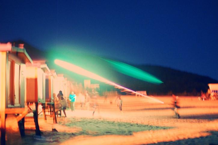luz y tiempo escena