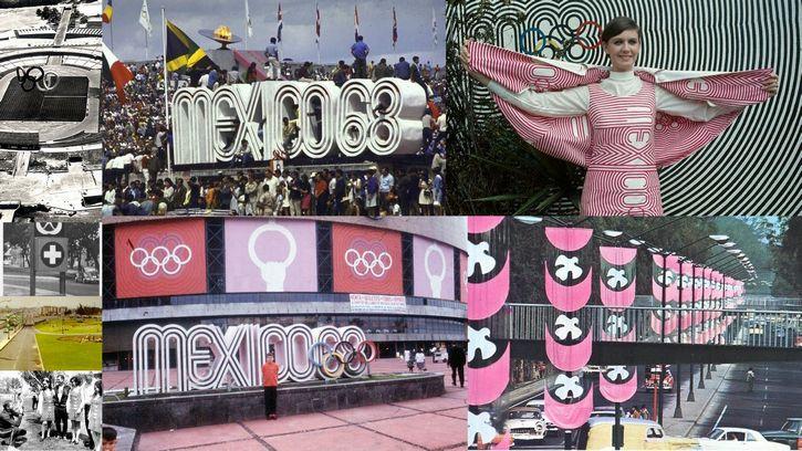 mexico 68 collage de imagenes