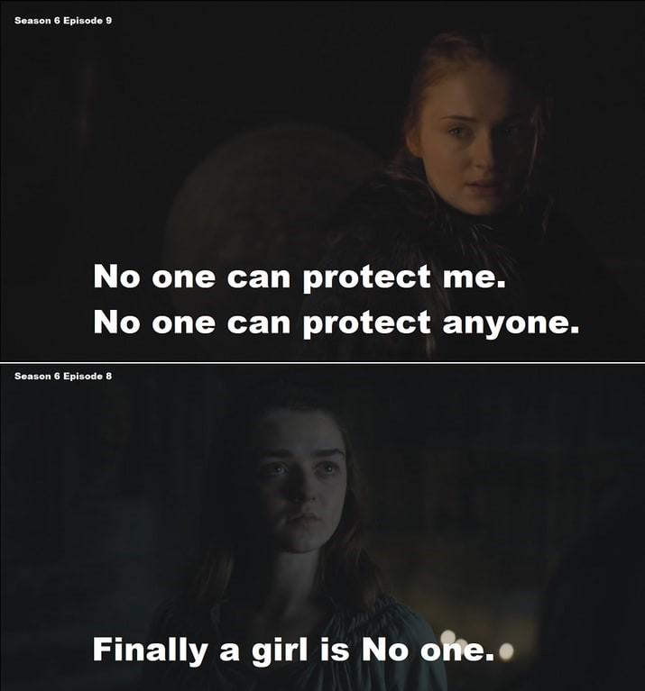 nadie puede proteger a Sansa
