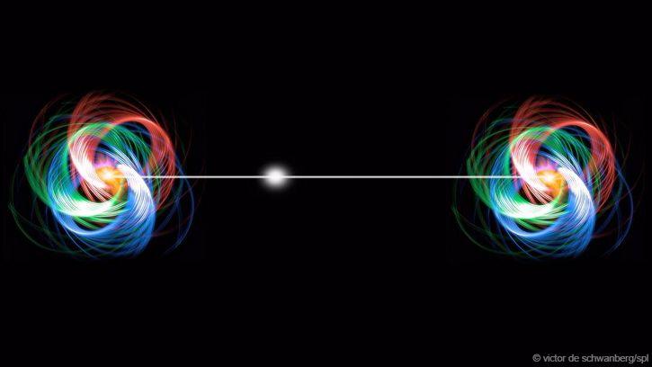 particulas accion a distancia