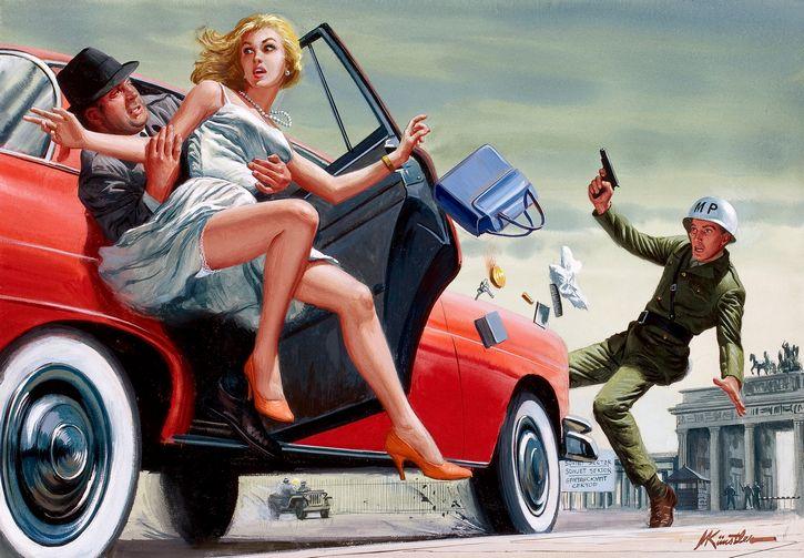 secuestros famosos portada ilustracion