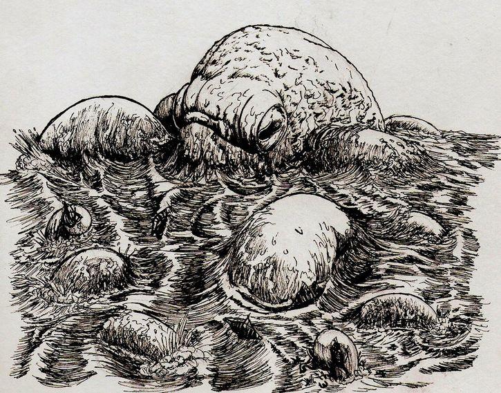 Los colosales monstruos marinos de la mitología escandinava