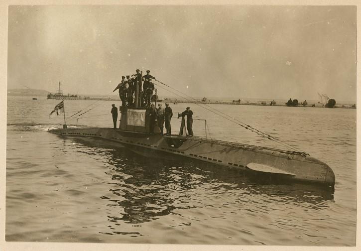 tripulación del U boat UB 14