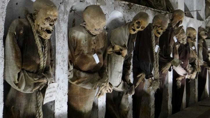 Catacombe dei Cappuccini en palermo italia