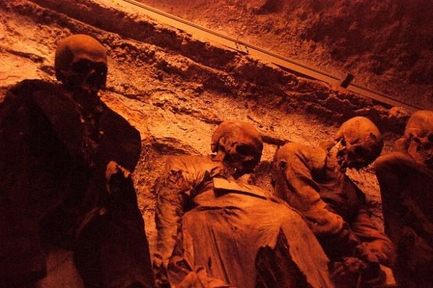 Catacumbas de los Capuchinos en palermo muertos (2)
