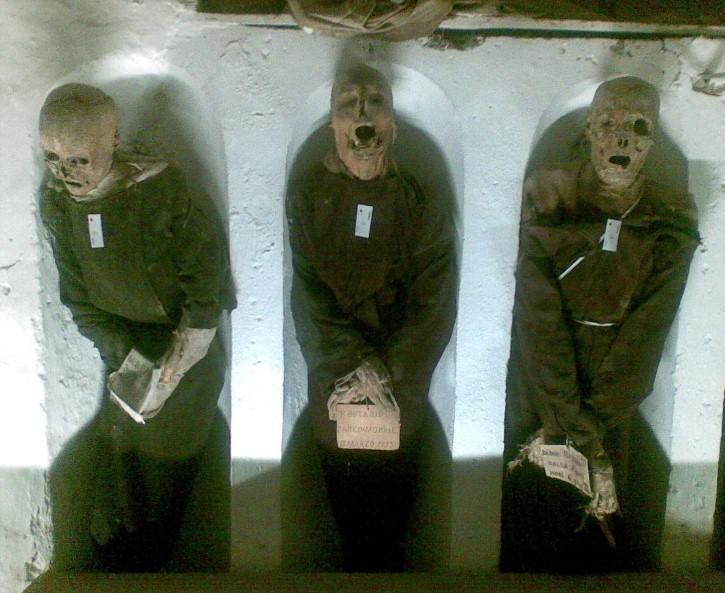 Catacumbas de los Capuchinos en palermo muertos (5)
