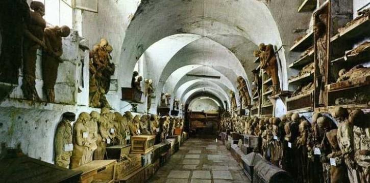 Catacumbas de los Capuchinos principal