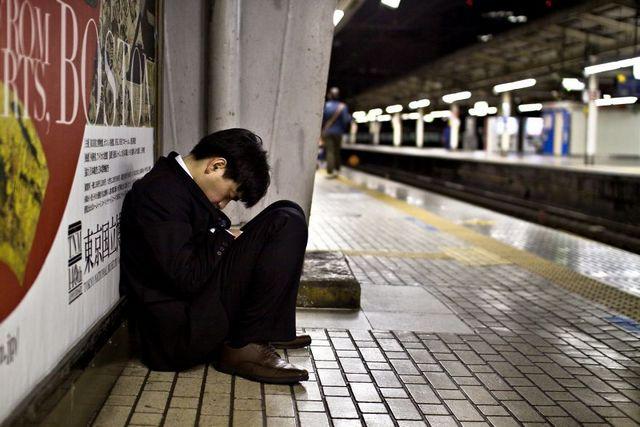 Dura realidad trabajadores japoneses (12)