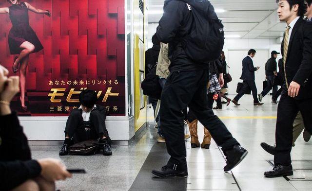 Dura realidad trabajadores japoneses (14)