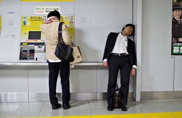 Dura realidad trabajadores japoneses (4)
