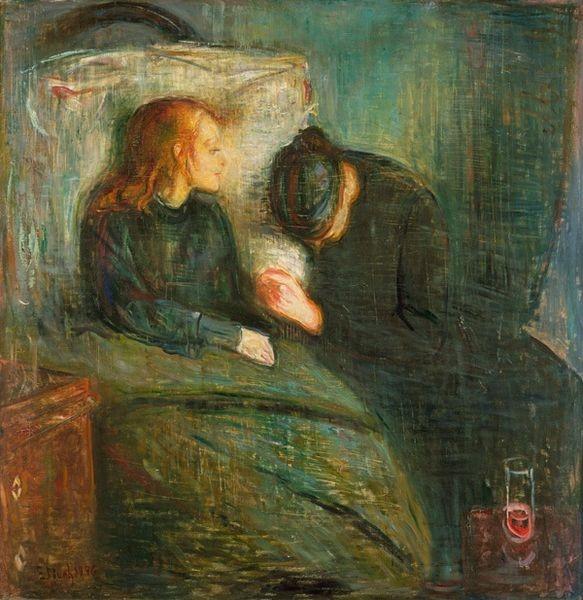 El niño enfermo Edvard Munch
