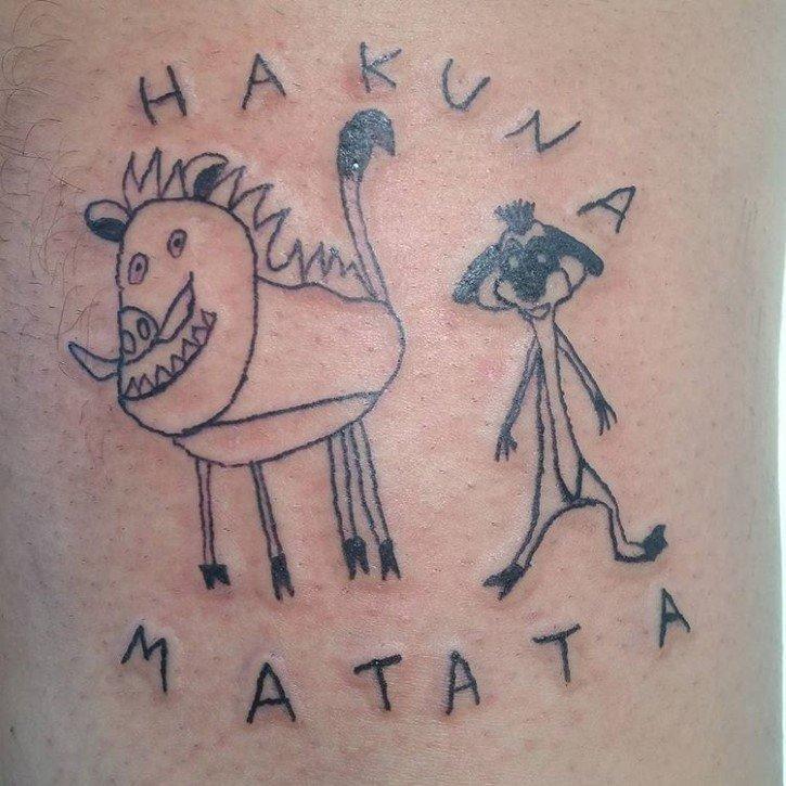 Hacen Fila Para Conseguir Un Tatuaje Feo De Esta Artista Brasilena