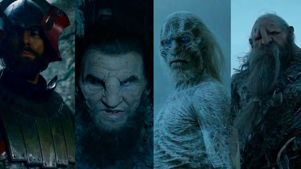 Ian Whyte personaes GOT