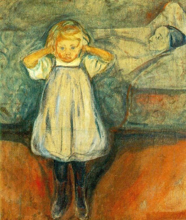 La Madre Muerta de Munch