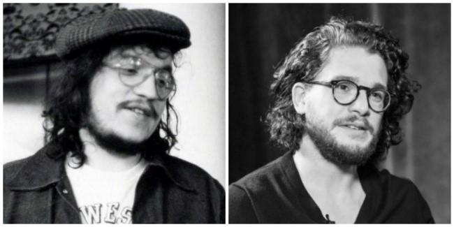 Parecidos George RR Martin y Jon Snow