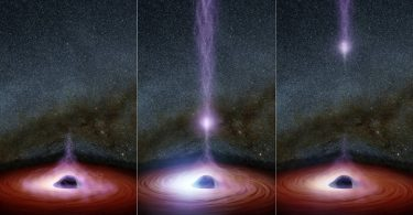 anatomia de un agujero negro