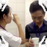 Por incumplir objetivos, en China obligan a empleados a beber agua del inodoro