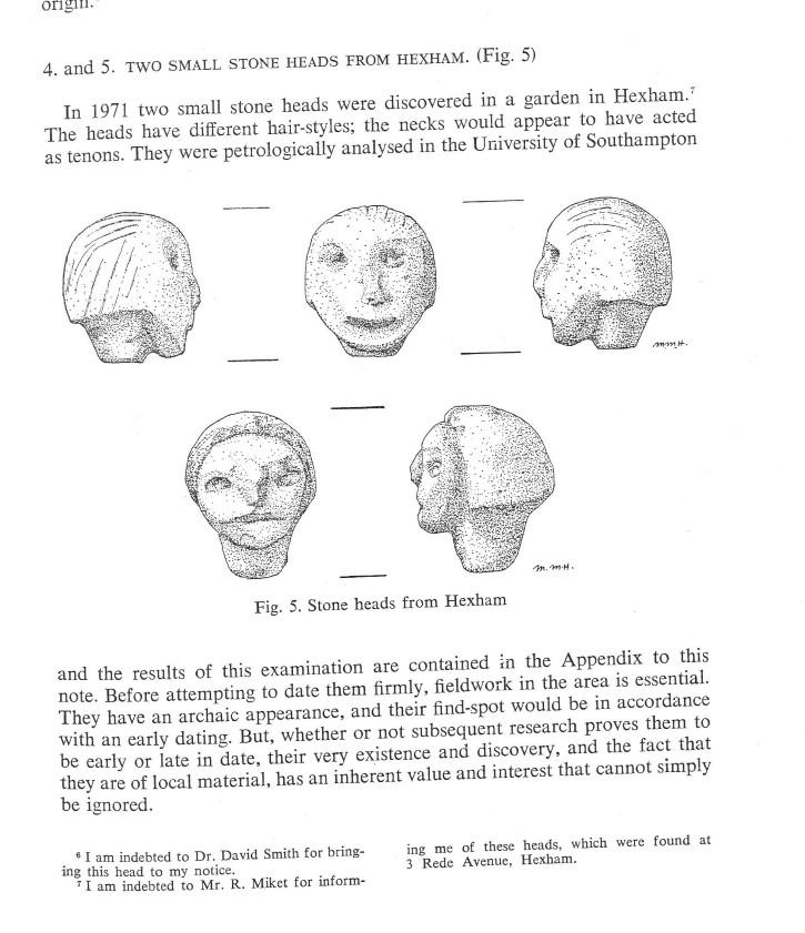 cabezas de hexham