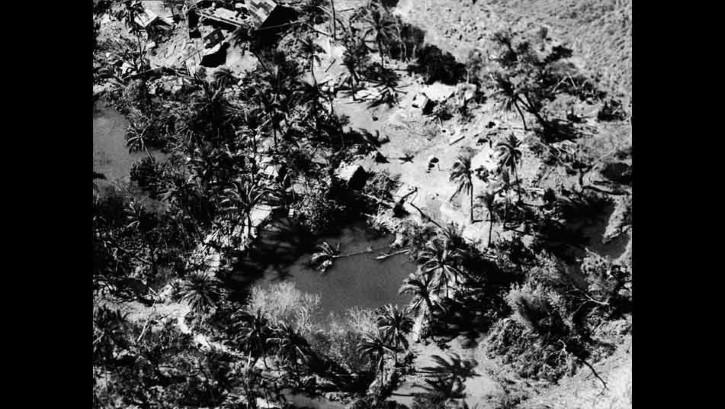 devastacion de ciclon bhola