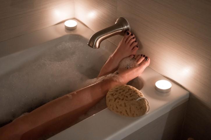 esponja para baño